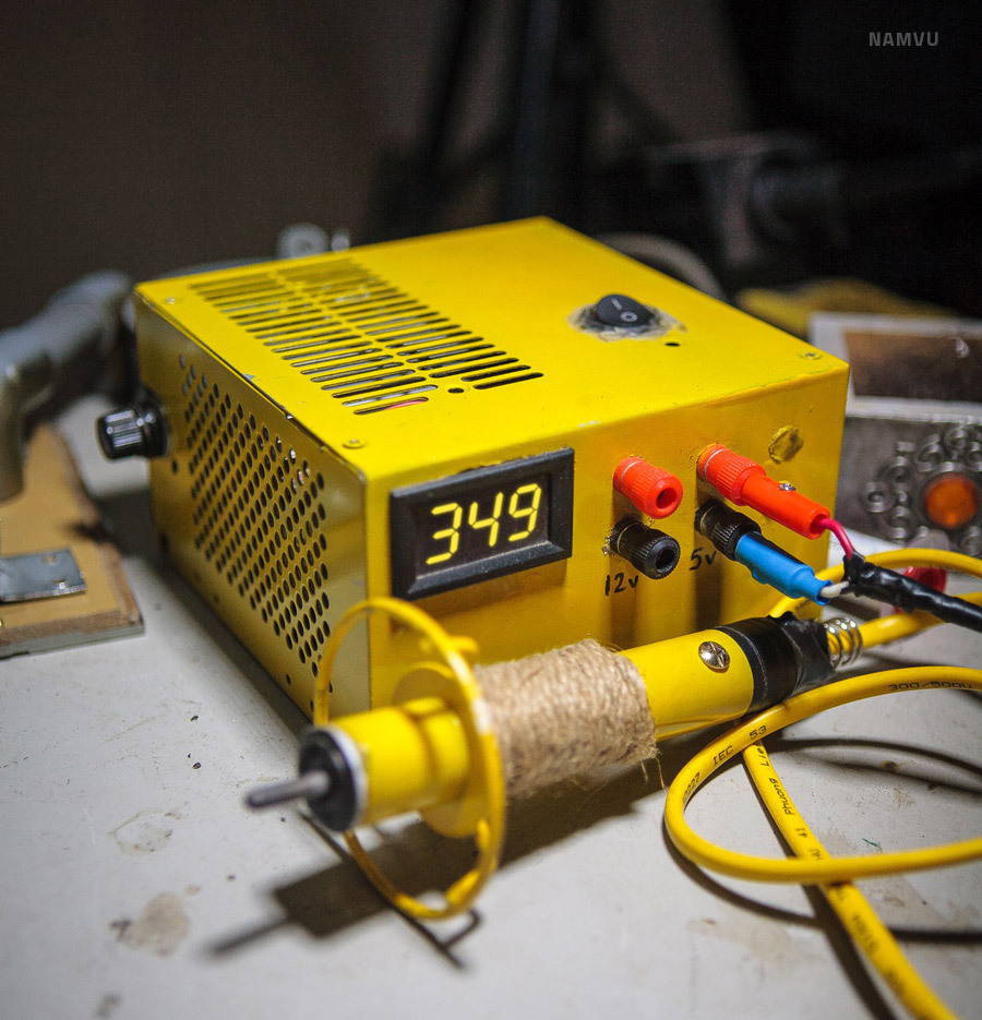 "12v ""Fire Pen"" from old ATX PSU"